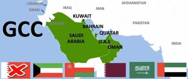 gli stati del golfo del cooperation gulf council GCC